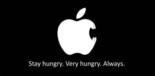 Apple hungry